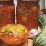 Миниатюра к статье Кабачки в томате на зиму: ТОП-4 обалденных рецепта на любой вкус