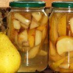 Миниатюра к статье Компот из груш на зиму: 10+ рецептов простых и очень вкусных