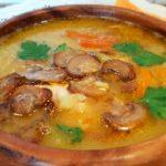 Миниатюра к статье Самые вкусные грибные супы из сушеных грибов: 8 рецептов с фото пошагово
