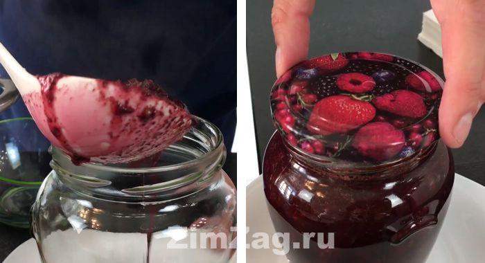 вишня с шоколадом варенье на зиму