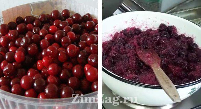 густое и вкусное варенье из вишни без косточек простой рецепт