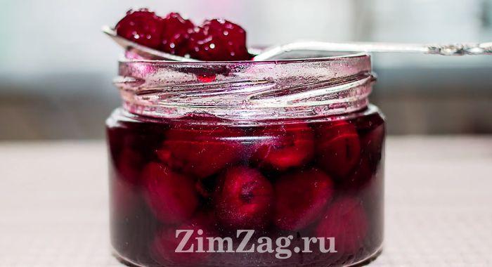 Варенье из вишни с шоколадом на зиму