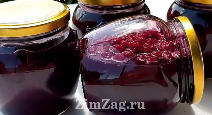 Малиново-вишневое варенье на зиму рецепт